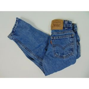 Vintage Levis Boys 550 Regular 6 Jeans Relaxed